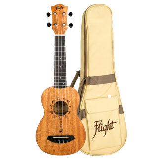 Flight DUS 371 MAH/MAH укулеле сопрано