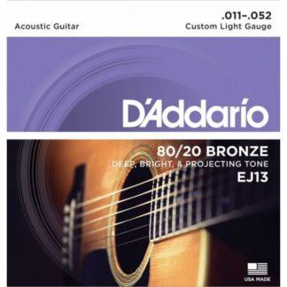 D'Addario EJ13 струны для акустической гитары