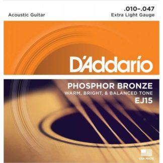D'Addario EJ15 струны для акустической гитары