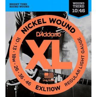 D'Addario EXL110 W струны для электрогитары