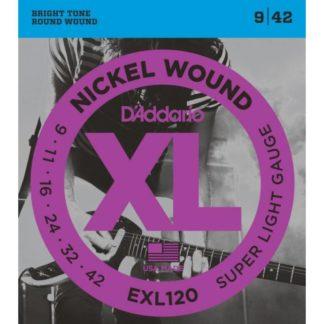 D'Addario EXL120 струны для электрогитары