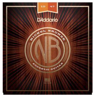 D'Addario NB1047 струны для акустической гитары