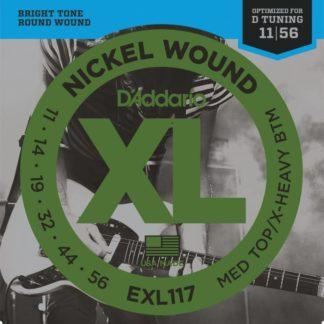 D'Addario EXL117 струны для электрогитары