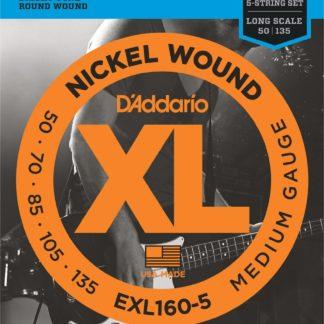 D'Addario EXL160-5 струны для бас-гитары