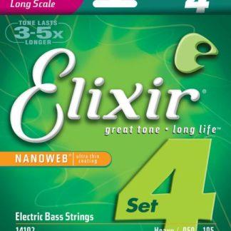 Elixir 14102 струны для бас-гитар