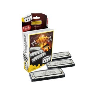 Hohner Hot Metal CGA набор гармоник